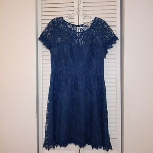 Lauren Conrad L.C Blue dress  16